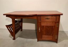 Gustave Serrurier-Bovy Desk 1903/04 Mahogany and brass 140 x 82 x 75 cm